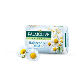 Palmolive Bar Soap, Palmolive Naturals, chamomile and vitamin e Chamomile & Vitamin E