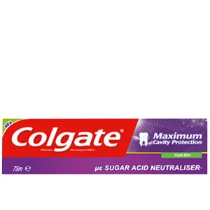 Colgate® Maximum Cavity Protection Με Sugar Acid Neutraliser™