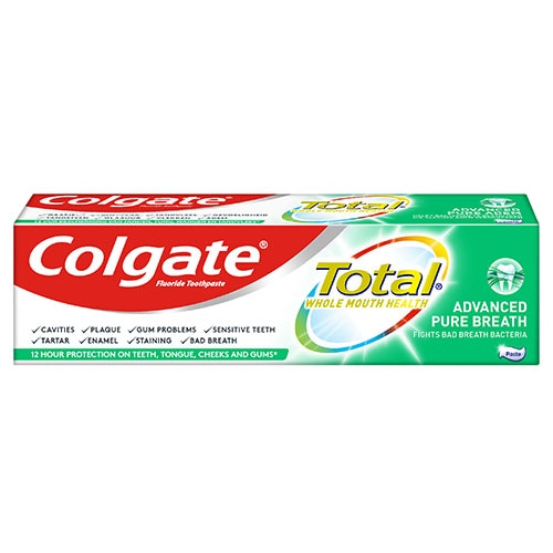 Οδοντόκρεμα Colgate Total Advanced Pure Breath