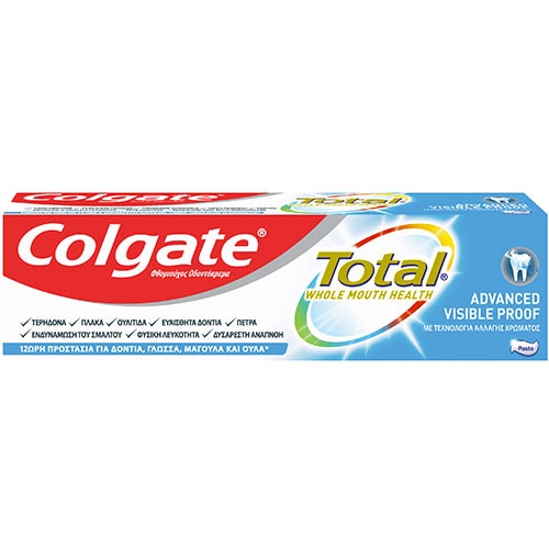 Οδοντόκρεμα Colgate Total Advanced Visible Proof Οδοντόκρεμα Colgate Total Advanced Visible Proof