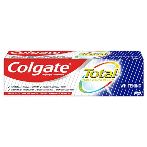 Οδοντόκρεμα Colgate Total Whitening